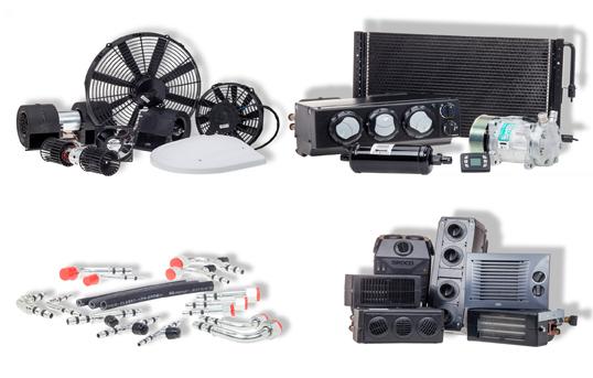 produkty standardowe do samochodów osobowych, użytkowych i specjalnych klimatyzacja wentylacja ogrzewanie pommard łomianki