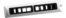 Regulowany prostokątny dyfuzor powietrza SENSYO II ROLL TWIN srebrny pommard łomianki